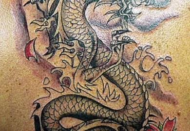 Dragon And Tiger Tattoo Designs