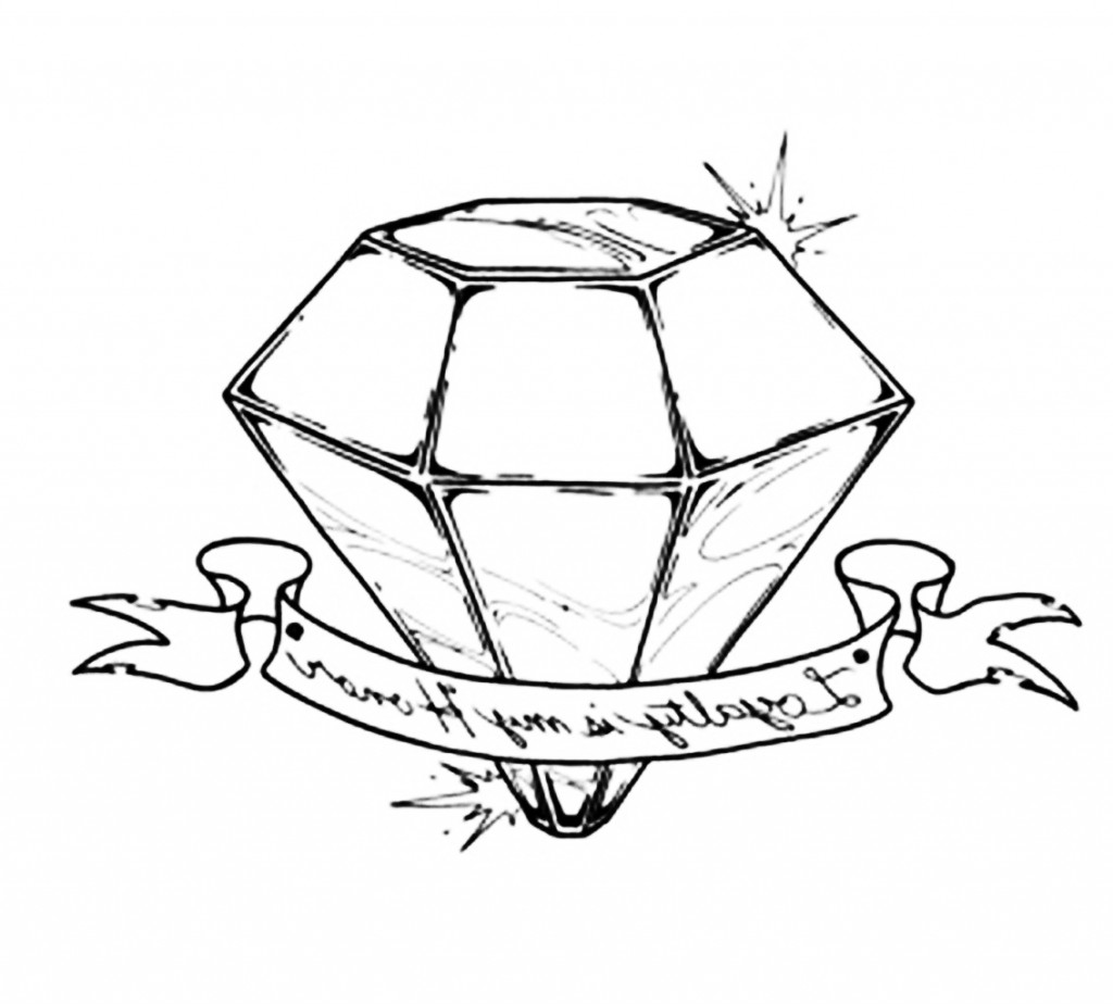 Diamond Tattoos Designs Ideas And Meaning