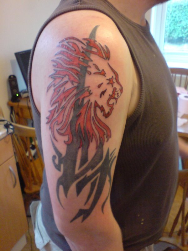 leo tattoos design ideas