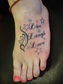 Live Laugh Love Tattoos Design Ideas And Meaning