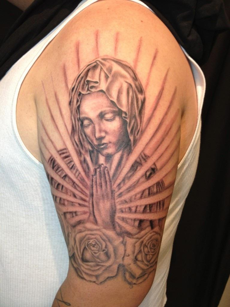 Virgin Mary Tattoos Designs Ideas and Meaning  Tattoos For You
