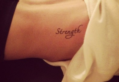 Tattoo Ideas Strength