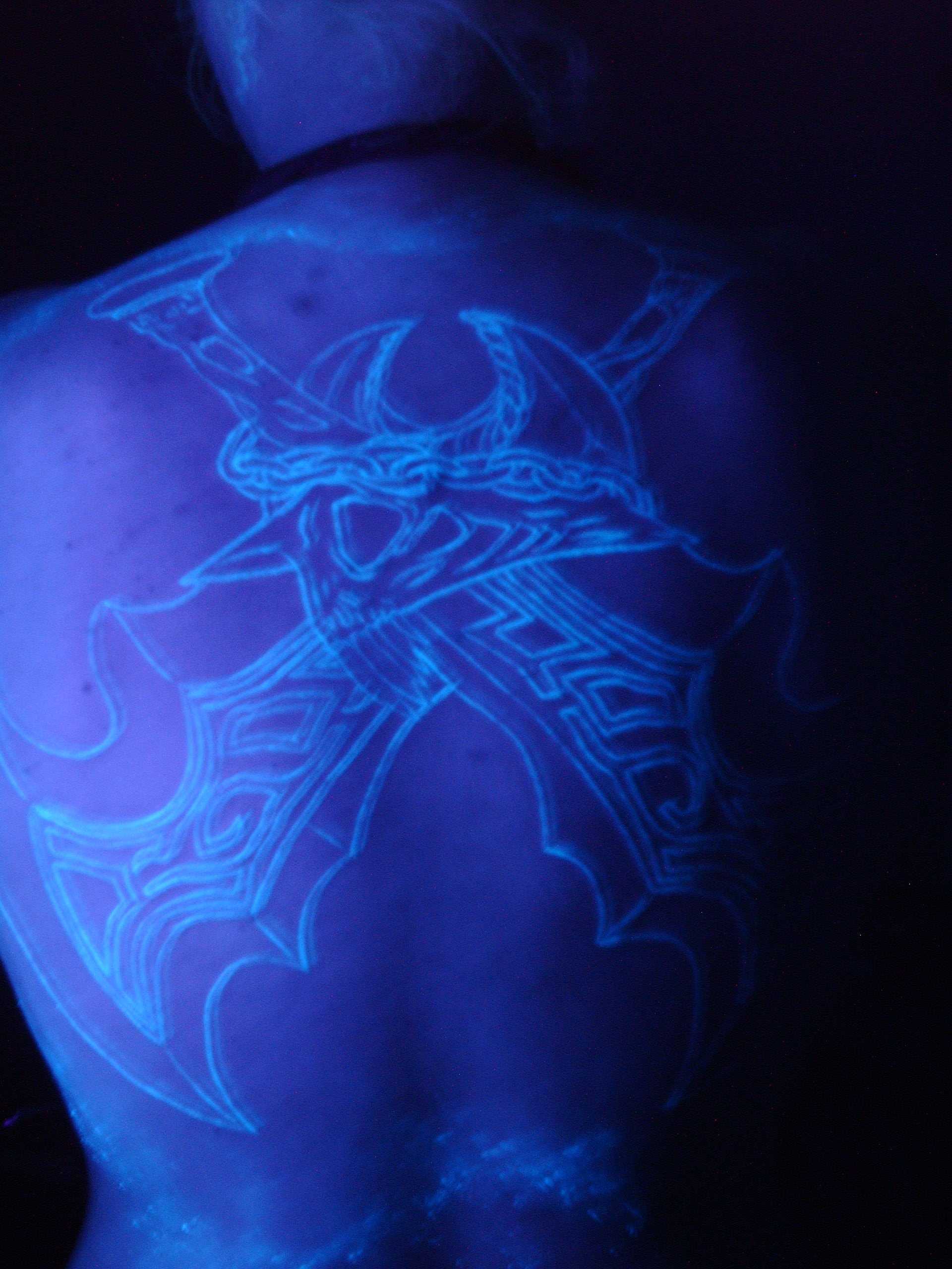 Black Light Tattoos Designs Ideas and Meaning  Tattoos For You