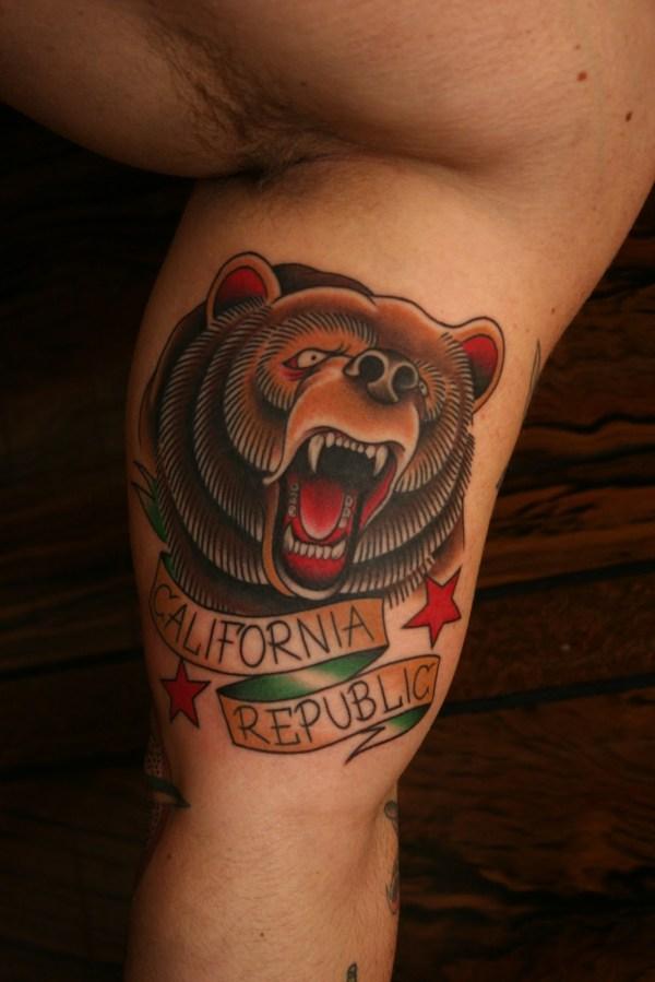 bear tattoos design ideas