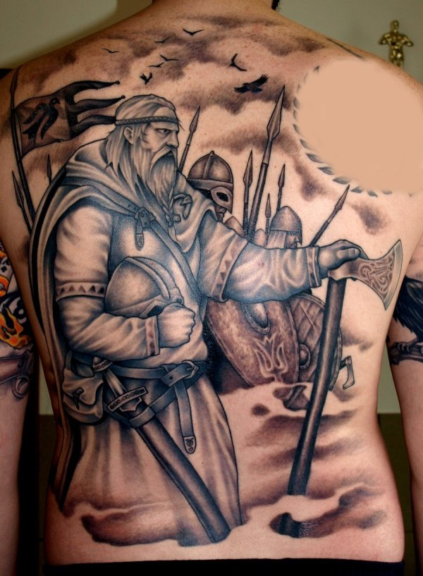 Norse Viking Tattoo Designs
