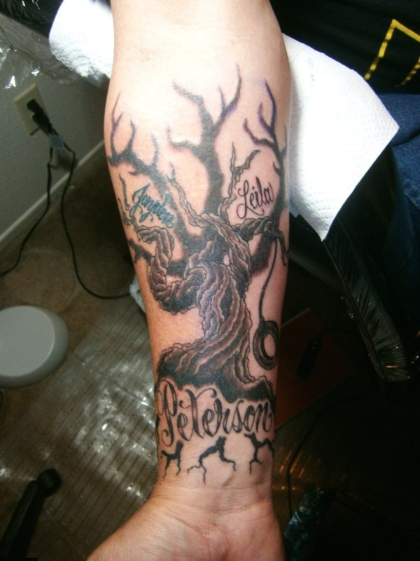 20 Tree Tattoos With Girls Names Ideas And Designs