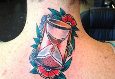 Hourglass Tattoos Designs