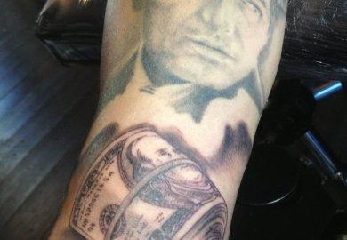Hundred Dollar Bill Tattoo Designs