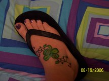 Celtic Shamrock Tattoo