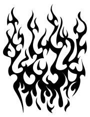 flame tattoos design ideas