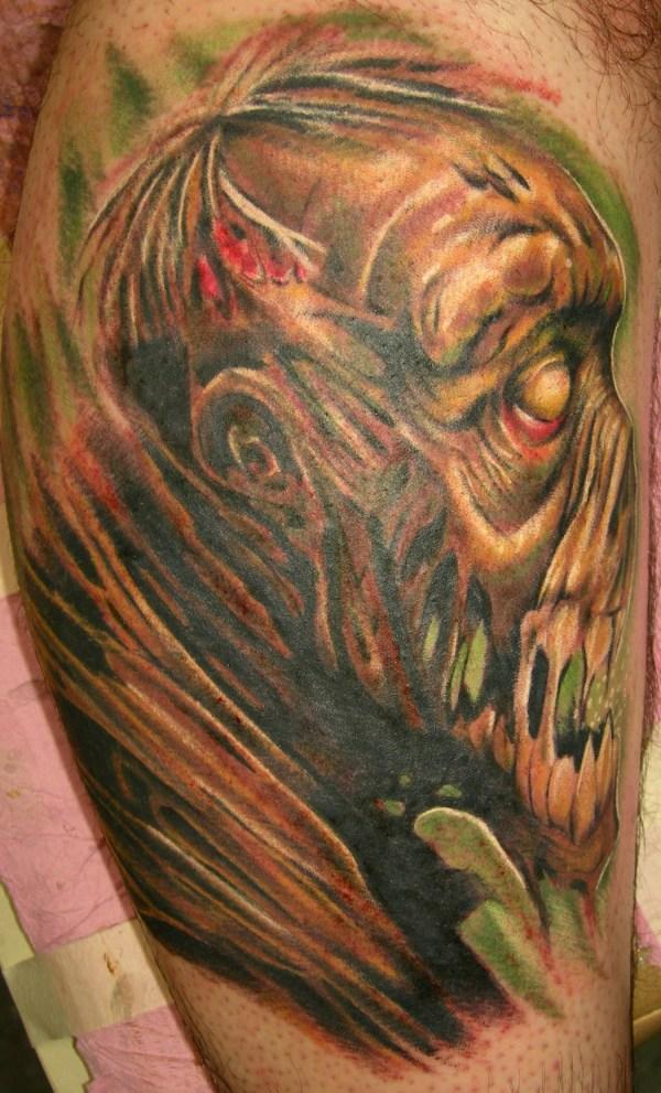 zombie tattoos design ideas
