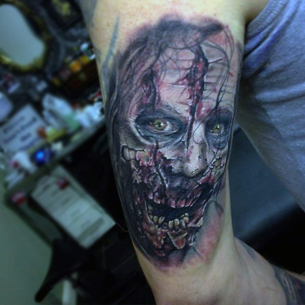 Wallpaper Zombie Girl Zombie Tattoos Designs Ideas And Meaning Tattoos For You