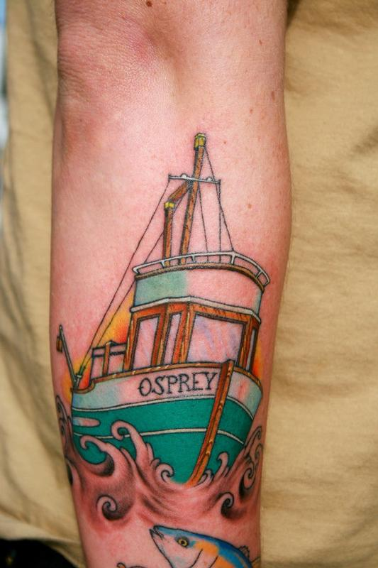 Boat Tattoos Designs Ideas And Meaning Tattoos For You
