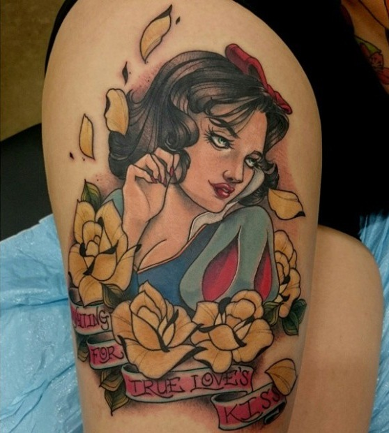 20 Snow White Tattoos Ideas And Designs