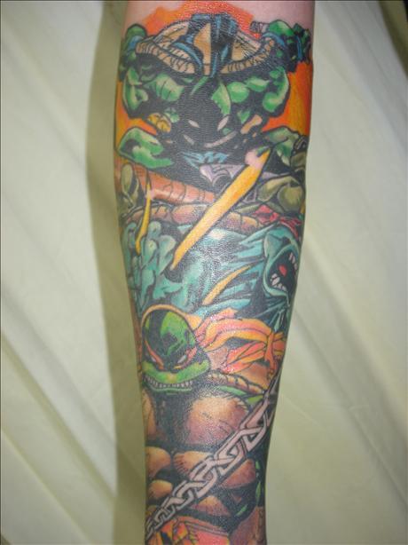 Ninja Turtle Tattoos Designs Ideas and Meaning  Tattoos