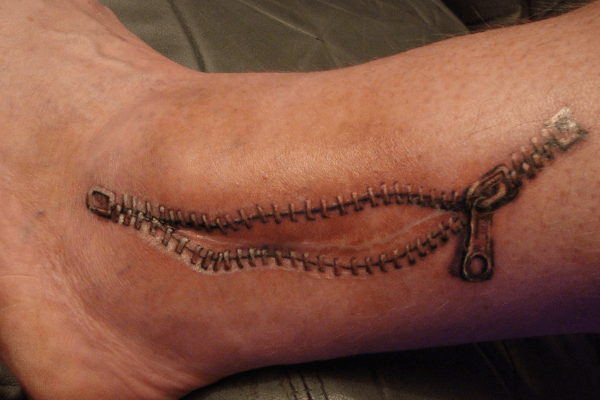 Zipper Tattoos Designs Ideas and Meaning  Tattoos For You