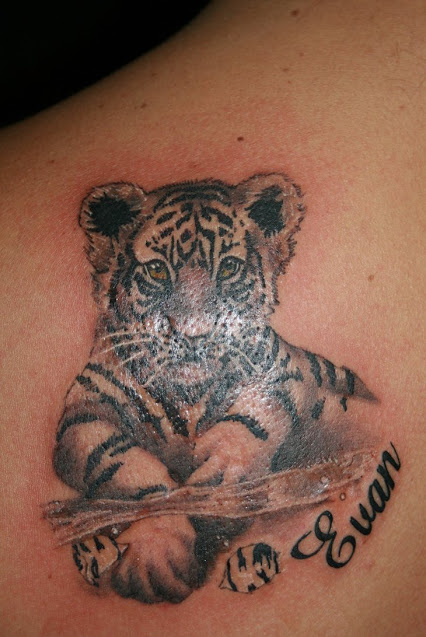 20 Cute White Tiger Tattoos Ideas And Designs