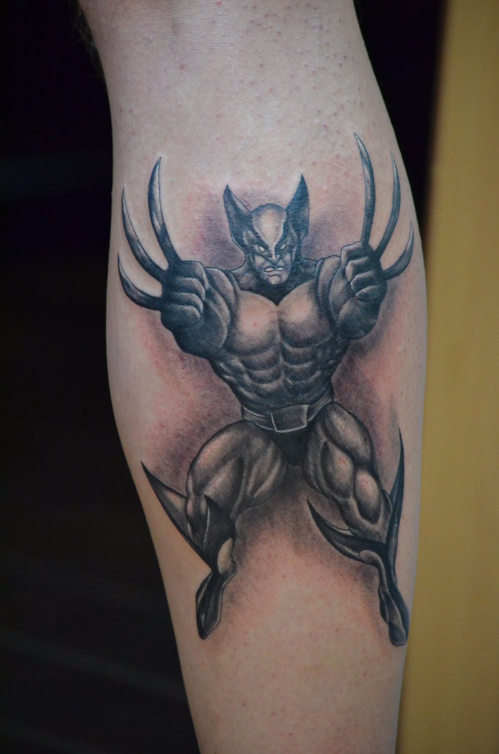 Wolverine Tattoos Designs Ideas And Meaning Tattoos For You