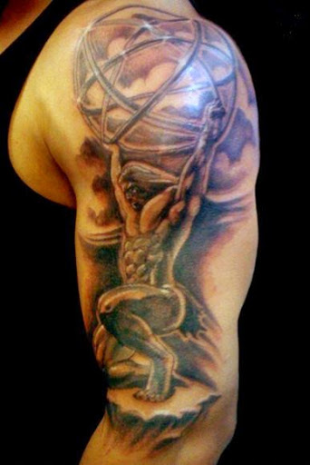 Atlas Tattoos Designs Ideas and Meaning  Tattoos For You