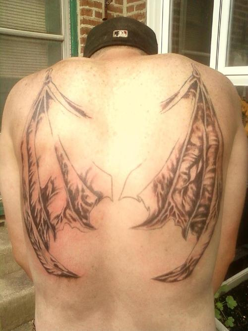 Bat Tattoos Designs Ideas and Meaning  Tattoos For You