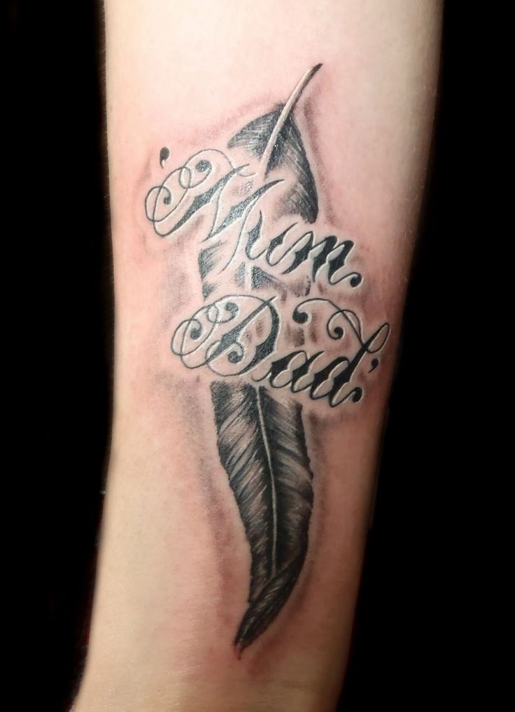 Mother Name Tattoo Designs