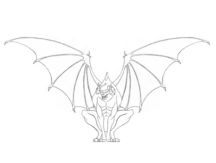Gargoyle Tattoos Designs Ideas And Meaning