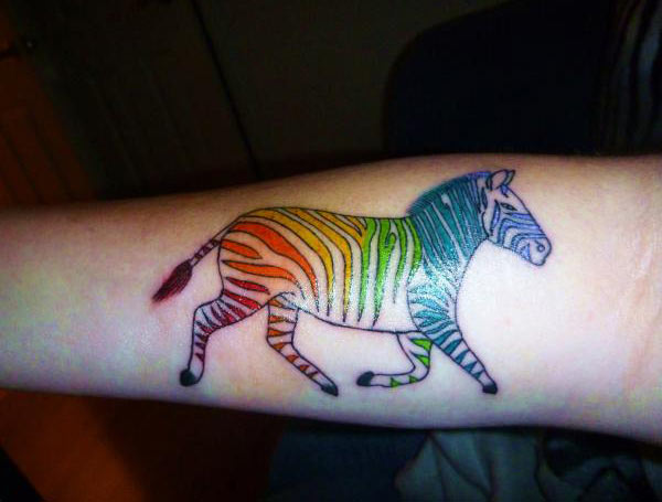 20 Zebra Small Simple Tattoos Ideas And Designs