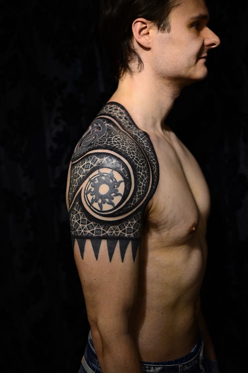 Shoulder Tattoos For Men Small