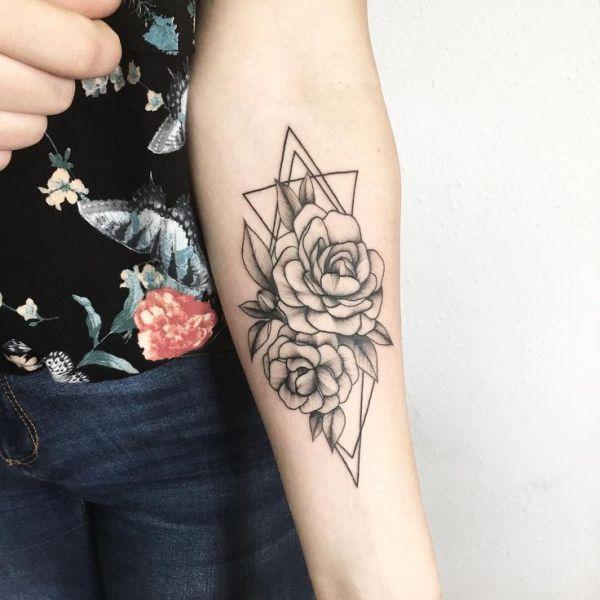 forearm tattoos women design