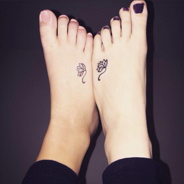 Matching Bestfriend Tattoos Boy And Girl