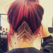 hair tattoo girl design ideas