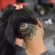 hair tattoo girl design ideas