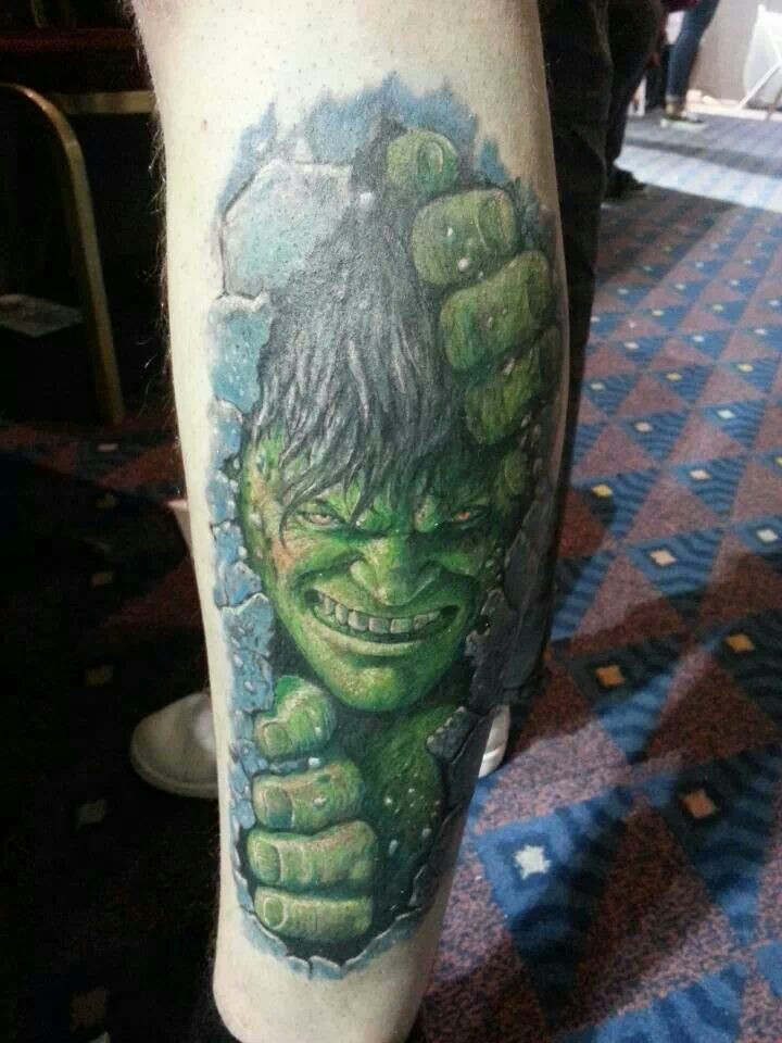 Hulk Tattoos Designs Ideas and Meaning  Tattoos For You