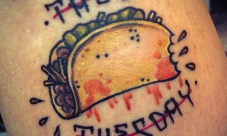 Taco Tattoo Designs Ideas And Meaning Tattoos For You
