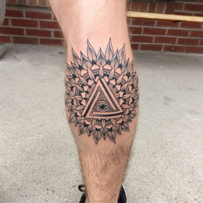 Tattoo Design For Men Legs