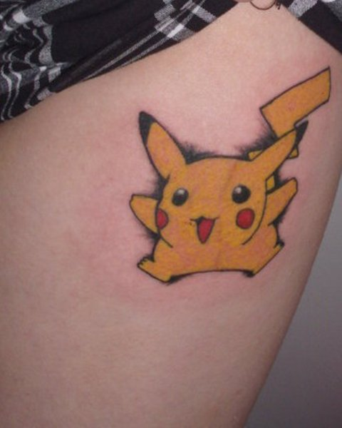 Pikachu Tattoo Designs Ideas and Meaning  Tattoos For You