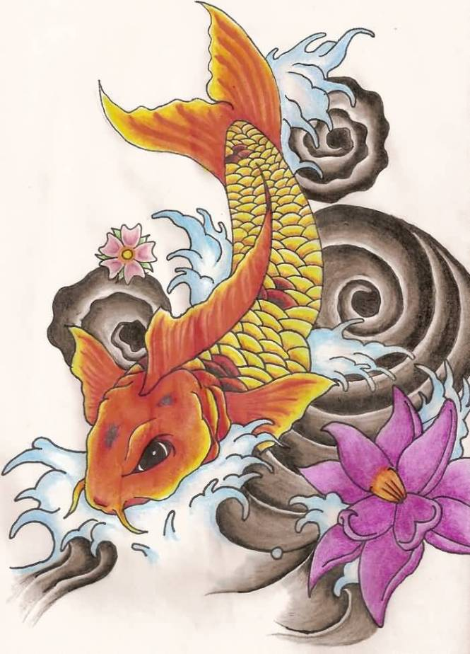 Lotus flower and koi fish tattoo images flower decoration ideas lotus flower and koi fish tattoo images flower decoration ideas lotus flower and koi fish tattoo mightylinksfo Choice Image