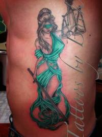 Justice Tattoo Ideas and Justice Tattoo Designs | Page 6