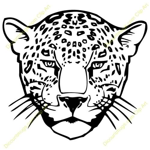 Fantastic Leopard Tattoo Design