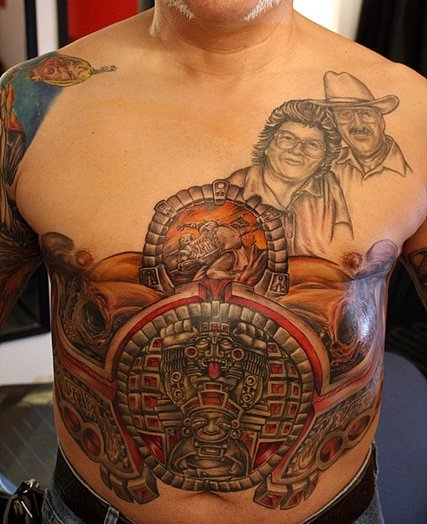 Men Belly Tattoo Ideas And Men Belly Tattoo Designs Page 5