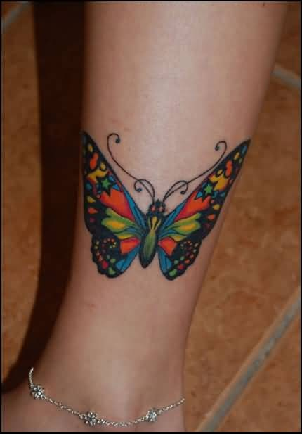 20 Cute Butterfly Tattoos For Women Lower Leg Ideas And Designs