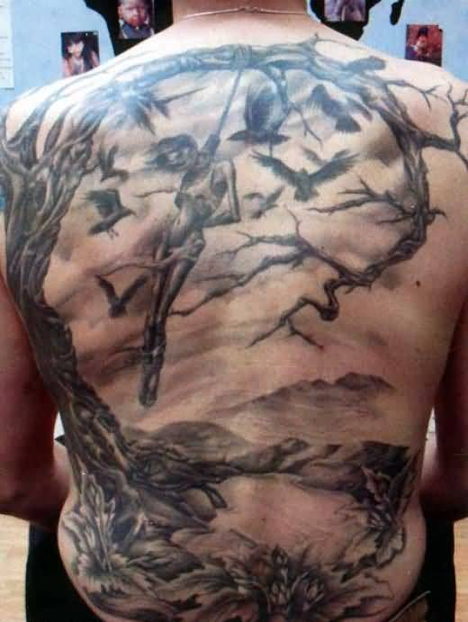 20 Simple Back Tattoos Men Ideas And Designs