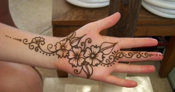 20 Cool Henna Tattoos Hand Ideas And Designs