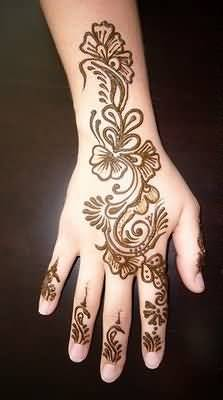 20 Hand Tattoos Simple Henna Flower Ideas And Designs