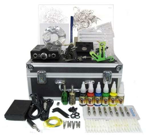 Apprentice tattoo kit and tattoo starter kit