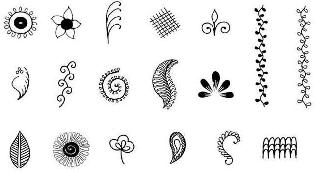using henna stencils for temporary tattoos tattoos spot. Black Bedroom Furniture Sets. Home Design Ideas
