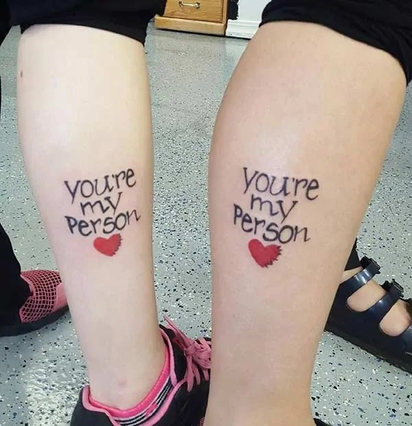 Grey anatomy unique tattoo sisters