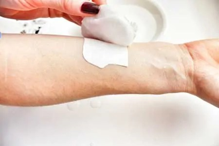 how to make golden ink temporary tattoo step 5