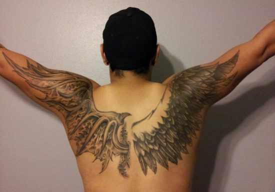Angel Wing Tattoo