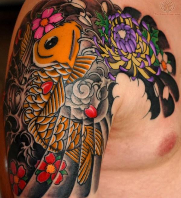 Japanese Koi Fish Tattoo Designs